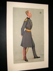 Vanity Fair Print 1892 Lord Methuen